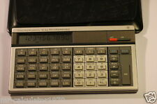 Vintage 1982 Texas Ti 66 programmables LCD Basic Ordinateur De Poche Calculatrice
