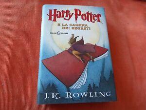 Harry Potter  E La Camera Dei Segreti  Prima Edizione Con Motto Latino   CO-D