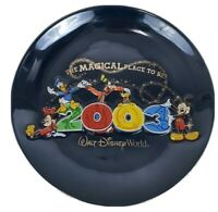 Walt Disney World The Magical Place To Be 2003 Collector Plate