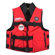 Skeeter Boats Mustang Life Vest 2XL 3xl red black