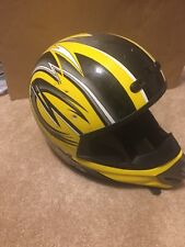 NFX Motorcross Helmet - Black & Yellow Theme
