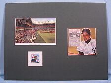 N.Y. Yankee great Phil Rizzuto & Subway Series stamp