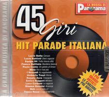 CD= 45 GIRI HIT PARADE ITALIANA=VOL.6=DALLA-BATTISTI-CONTE-MINA-BATTIATO-ZERO