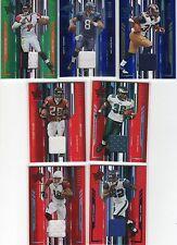 Michael Vick 2005 Rookies & Stars Longevity Emerald 3 color jersey patch 3/20