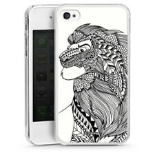 Apple iPhone 4s Handyhülle Hülle Case - Mufasa Ethno