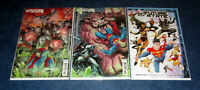 FUTURE STATE BATMAN SUPERMAN 1 & 2 1st print B variant set DC COMIC 2021 NM
