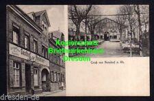 116878 AK Bendorf a. Rh. Gasthof zur Rheinfahrt Gartenwirtschaft Saal Kegelbahn