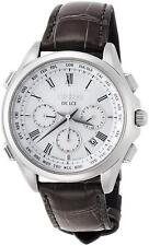 SEIKO DOLCE Chronograph SADA039 Solar Radio Men's Watch World Time New in Box