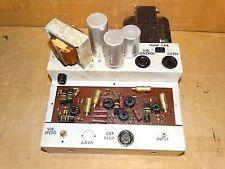 Vintage Wurlitzer 6V6 Tube Power Amplifier *12AX7*Sprague Bumble Bee*