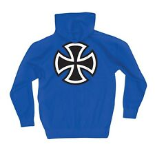 Independent Trucks Bar And Cross Pullover Skateboard Hoodie Royal Blue Large