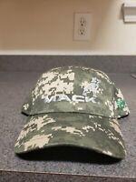 Mack Truck Bulldog Logo Camo Camouflage Hat Cap Adjustable New NWOT Shealy