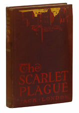 The Scarlet Plague ~ JACK LONDON ~ First Edition ~ 1st Printing ~ 1915 Hardcover