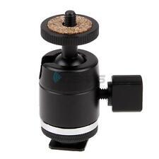 "1/4"" Adapter Holder Bracket Mini Ball Head Hot Shoe Mount for Gopro Canon Camera"