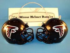 ATLANTA FALCONS CAR MIRROR NFL FOOTBALL HELMET DANGLER - HANG FROM ANYTHING!
