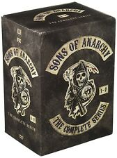 Sons of Anarchy The Complete Series Season 1-7 Boxset (DVD 2015) 1 2 3 4 5 6 7