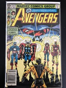 AVENGERS 217 | 1st Appearance Mechano-Marauder | Thor | Marvel Comics 1982