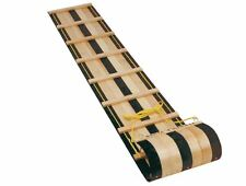 Flexible Flyer 6 ft. Classic Wooden Toboggan Sled Sleds Snow Winter Sports Wood