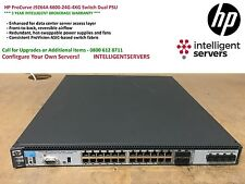 HP ProCurve J9264A 6600-24G-4XG Switch Dual PSU ** J9264A **