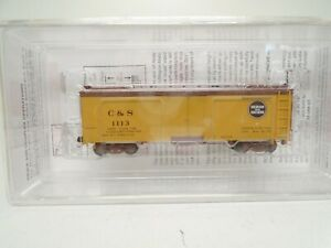 Micro-Trains HOn3 30' Composite Frame Reefer, C&S, lot D