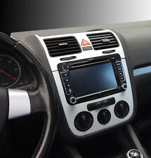 VW GOLF 5 V- Set  alu  consol, steering and air vents, Manual A/C.