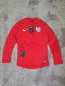 Men's Nike USA National Soccer Team Anthem Jacket 893606-659 Red