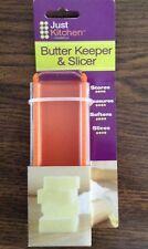 Butter Keeper & Slicer / Cutter- Stores- Measures- Softens- Slices- USA SELLER