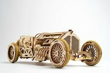 UGears U-9 Grand Prix Car - Wooden Mechanical Model - 348 Pieces