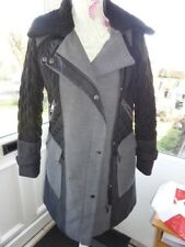 NEXT PETITES LONG QUILTED COAT SIZE 8