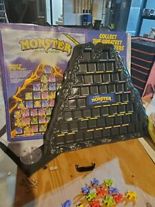 monster in my pocket monster mountain and series 1 lot (some box fading & tears)