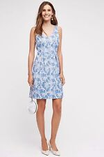 Anthropologie Moulinette Soeurs Blue Willow Lake Dress, Size: UK8 NEW