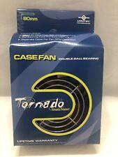 Vantec Tornado TD8038H case fan double ball bearing 80x80x38mm New In Sealed Box