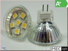 MR11/GU4 LED-Strahler - 6x 3-Chip-SMDs - 1,3W - 90Lm - warm-weiß EEK:A