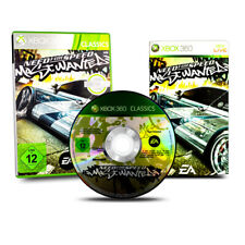 Xbox 360 Spiel Need For Speed Most Wanted Altes Cover in OVP mit Anleitung