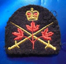 CANADA Armed Forces Canadian INFANTRY 3 Maple Leaf crossed swords patch badge QC