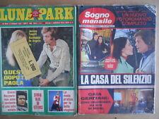 BUSTA anni 70 di 2 Fotoromanzi LUNA PARK 84 + Sogno Mensile 105  [D3]