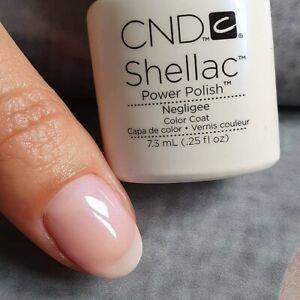 CND Shellac Negligee 7,3 mlNeu Nagellack Top Super Qualität
