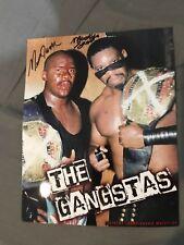 The Gangstas Autographed Photo