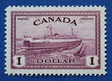 CANADA (#273) 1946 Train Ferry, Prince Edward Island MNH single