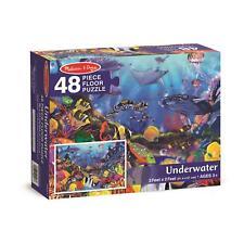 NEW Melissa & Doug Kids Underwater 48-Piece Floor Jigsaw Puzzle 3' x 2' Ages 3+