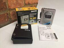 SANYO trc-960c personali STEREO CASSETTE PLAYER / Dictaphone. RARE retrò vintage.
