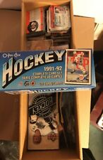 Box Of Hockey Cards, Early 1990's, Boxes, Singles, Holders, Box Weighs 12 Pounds