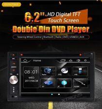 AUTORADIO 2 DIN UNIVERSALE 6.2 POLLICI DVD USB SD BLUETOOTH AUX XTRONS TD623