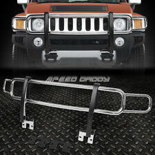FOR 06-10 HUMMER H3/H3T OE STYLE CHROME STAINLESS STEEL FRONT BRUSH GRILLE GUARD
