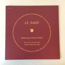 J.S.BACH VIOLIN SONATAS - AUCLAIR JAPAN LEXINGTON 2LPS NM