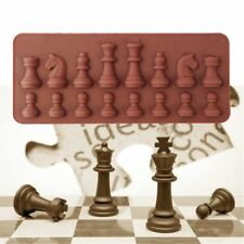 International Chess Chocolate Mold Ice Sugar Soap Cake Decor Mould Cube Tray Hot