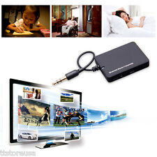 Stereo Bluetooth Audio Transmitter A2DP 3.5mm Dongle Adapter for PC TV iPod MP3