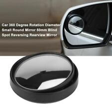 Car 360° Rotation Small Round Mirror 50mm Blind Spot Reversing Rearview Mirror