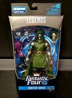 Marvel Legends Fantatic Four Super Skrull BAF Dr Doom Figure