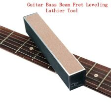 Guitar Bass String Instrument Fret Leveling Files with Self-adhesive Sandpaper