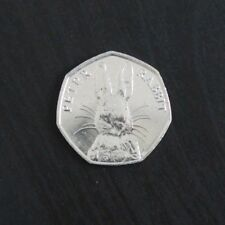2016, 2017, 2018 Uncirculated Beatrix Potter 50p Fifty Pence - Choose Your Coin